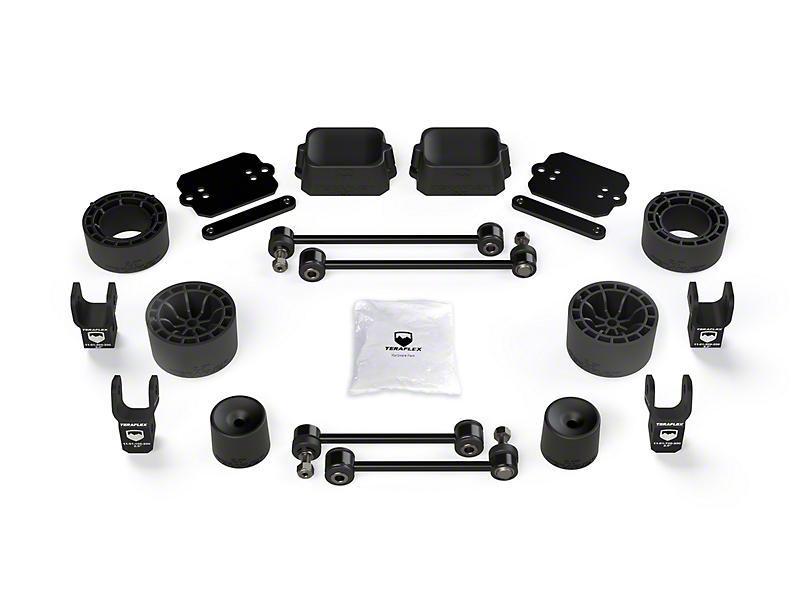 Teraflex 2.5 in. Performance Spacer Lift Kit w/ Shock Extensions (18-20 Jeep Wrangler JL Rubicon 2 Door)