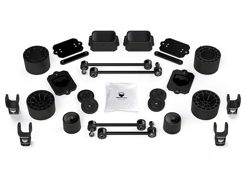 Teraflex 2.5 in. Performance Spacer Lift Kit w/ Shock Extensions (18-20 Jeep Wrangler JL 4 Door, Excluding Rubicon)