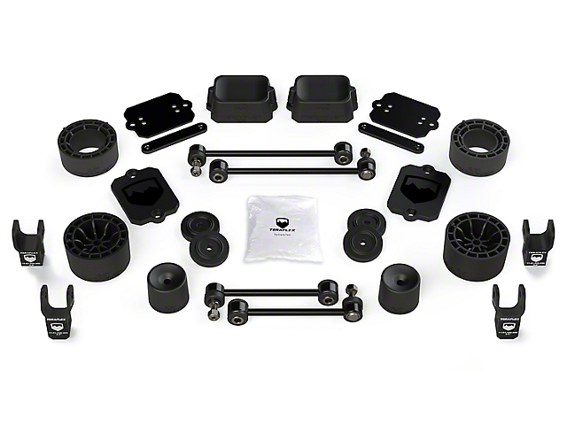 Teraflex 2.5 in. Performance Spacer Lift Kit w/ Shock Extensions (18-20 Jeep Wrangler JL 2 Door, Excluding Rubicon)