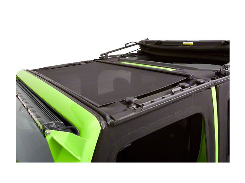 Bestop Retractable Sunshade for Hard Tops (18-19 Jeep Wrangler JL)