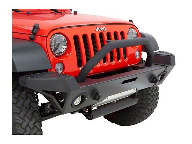 Bestop Tubular Grille Guard for HighRock 4x4 Modular Front Bumper (18-20 Jeep Wrangler JL)
