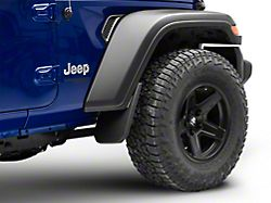 Custom Molded Mud Guards; Front (18-20 Jeep Wrangler JL, Excluding Rubicon)