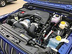 Procharger High Output Intercooled Supercharger Kit with P-1SC-1; Satin Finish (18-20 3.6L Jeep Wrangler JL)