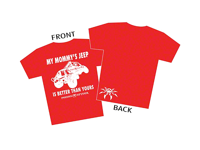 Poison Spyder Youth My Mommy's Jeep T-Shirt