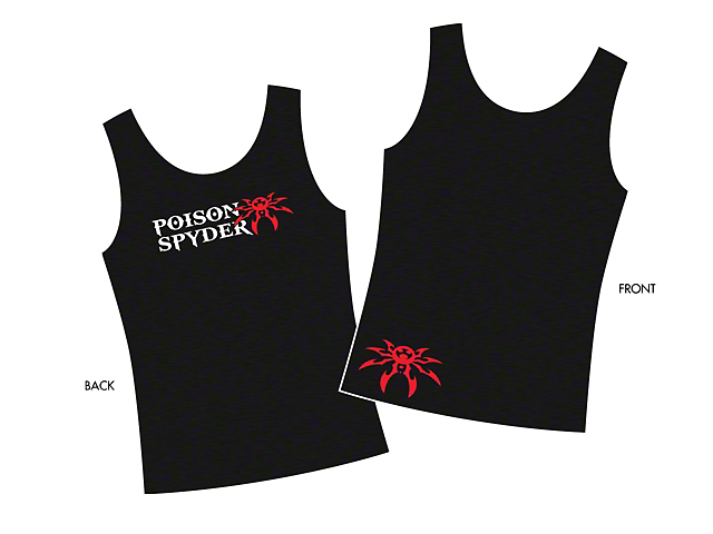 Poison Spyder Women's Logo Tank Top; Black