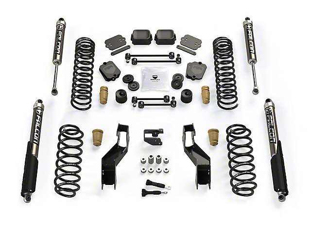 Teraflex 3.5 in. Sport S/T3 Suspension Lift Kit w/ Falcon 2.1 Shocks (18-20 Jeep Wrangler JL 4 Door)