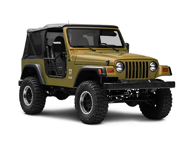 RedRock 4x4 Safari Tracker Doors with Mirrors (97-06 Jeep Wrangler TJ)