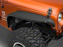 RedRock 4x4 Safari Fender Flares with LED; Front (07-18 Jeep Wrangler JK)