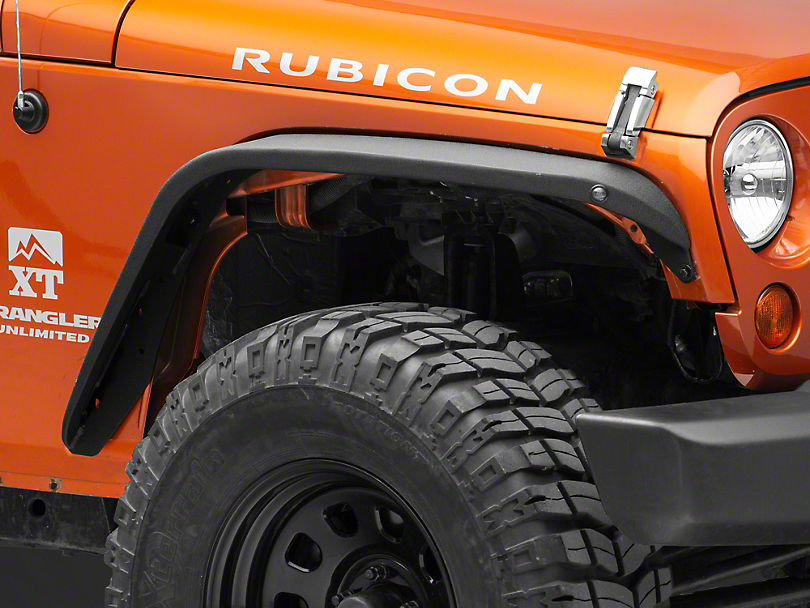 RedRock 4x4 Safari Stubby Fender Flares (07-18 Jeep Wrangler JK)