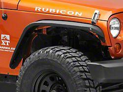 RedRock 4x4 Safari Stubby Front & Rear Fender Flares (07-18 Jeep Wrangler JK)