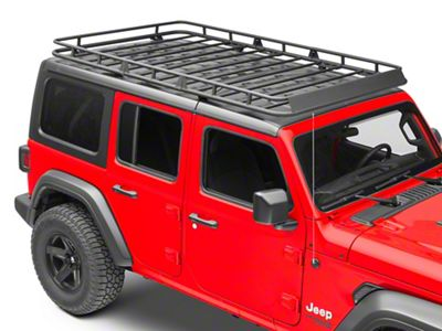 Redrock 4x4 Jeep Wrangler Full Length Roof Rack J130926 Jl 18 21 Jeep Wrangler Jl 4 Door