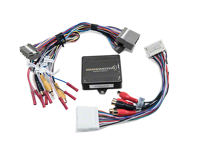 Raxiom Dual Camera Interface Module for Factory Display (07-18 Jeep Wrangler JK)