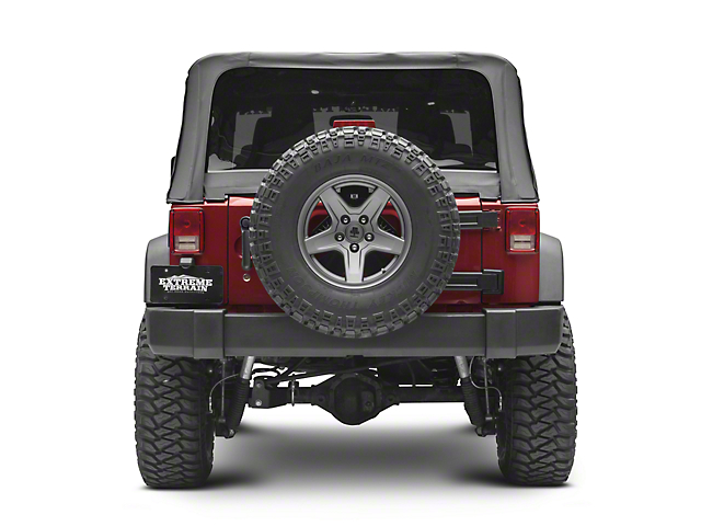 Raxiom Infrared Adjustable Rear Vision Camera for Aftermarket Radios (07-18 Jeep Wrangler JK)