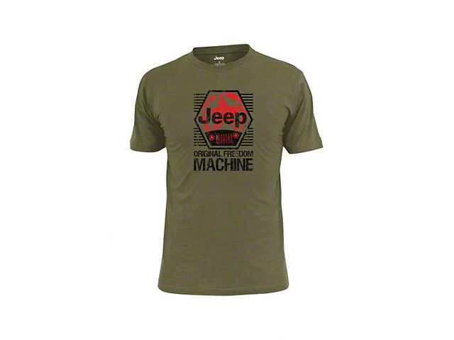 Men's Jeep Freedom Machine T-Shirt
