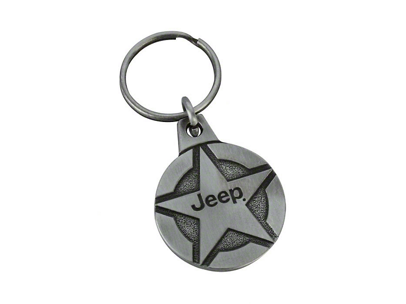 Jeep Star Key Chain