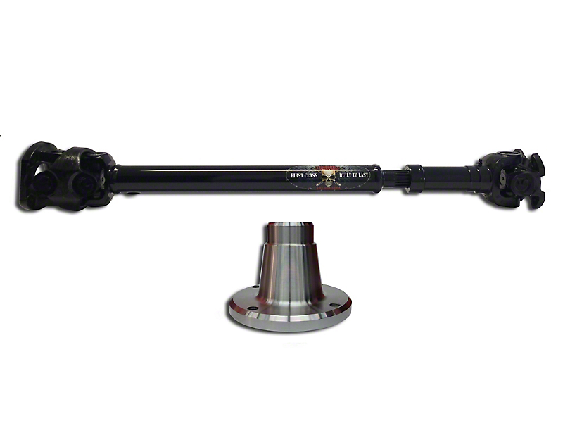 Adams Driveshaft Extreme Duty Front 1350 Solid CV Driveshaft (07-18 Jeep Wrangler JK)