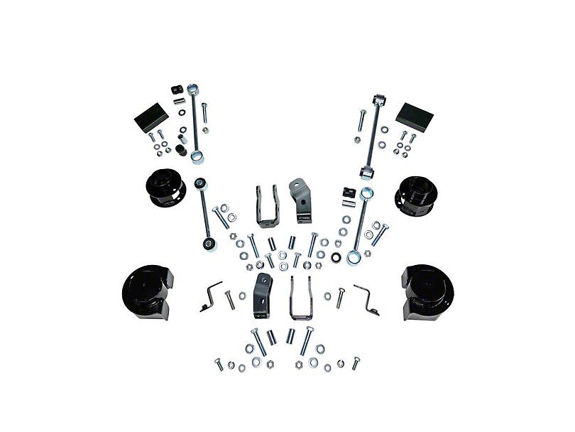 2.5 in. Coil Spacer Suspension Lift Kit (18-20 Jeep Wrangler JL 4 Door)