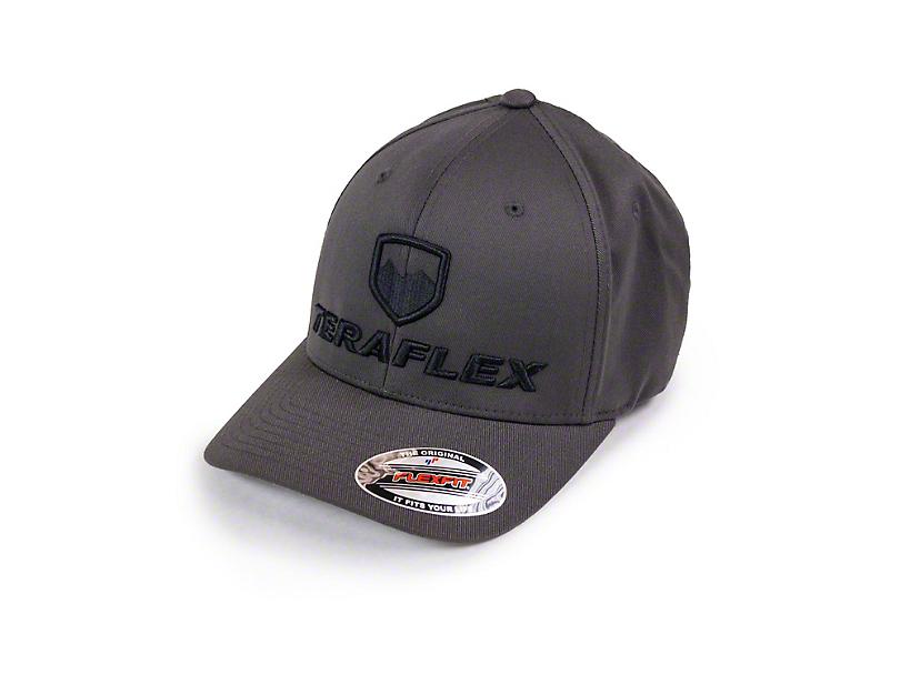 Teraflex Premium FlexFit Hat - Dark Gray