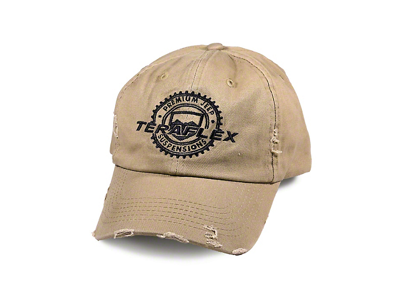 Teraflex Vintage Distressed Hat - Tan