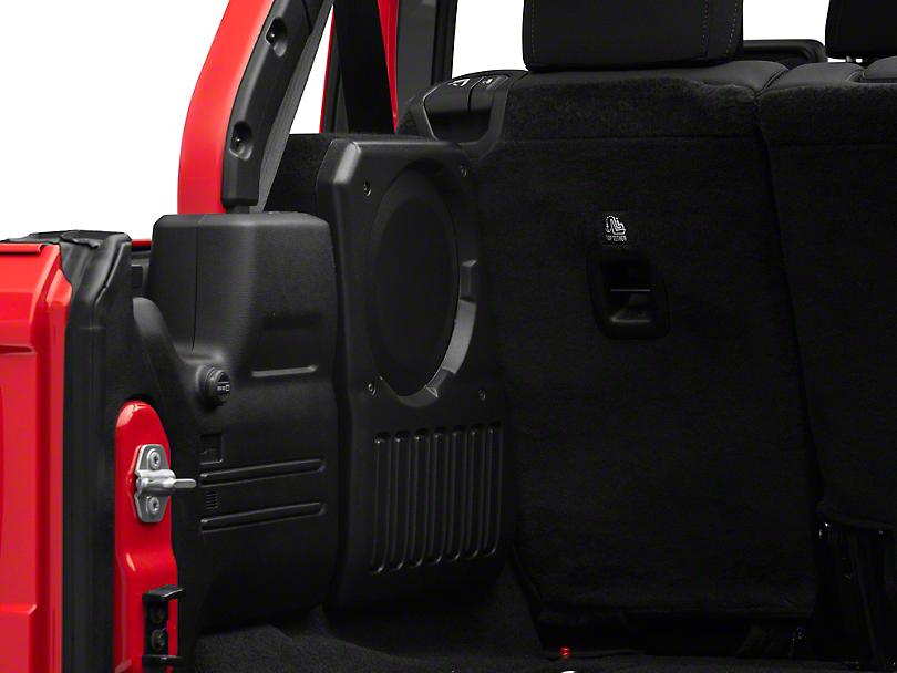 JL Audio Stealthbox - Driver Side (18-20 Jeep Wrangler JL)