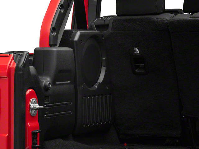 JL Audio Stealthbox - Driver Side (18-20 Jeep Wrangler JL)
