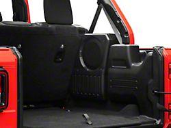 JL Audio Stealthbox; Passenger Side (18-20 Jeep Wrangler JL)