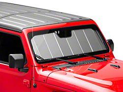 Covercraft UVS100 Custom Sunscreen; Silver (18-20 Jeep Wrangler JL)