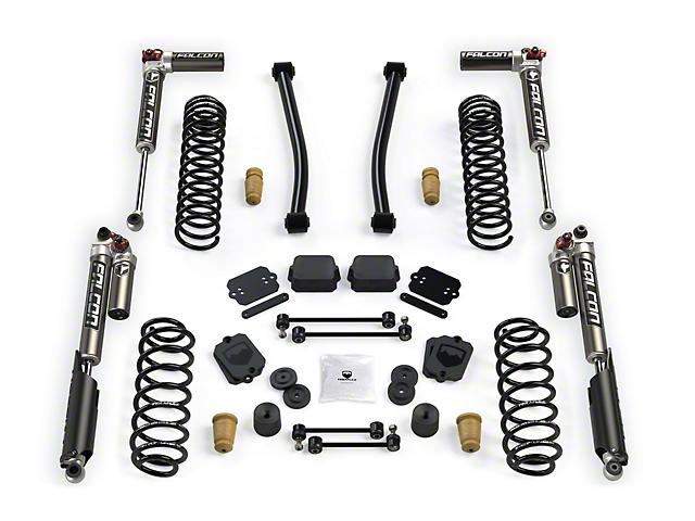 Teraflex 2.50-Inch Sport S/T2 Suspension Lift Kit with Falcon 3.3 Shocks (18-21 2.0L or 3.6L Jeep Wrangler JL 4 Door)