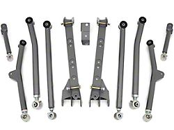 Rough Country Long Arm Upgrade Kit for 4 to 6-Inch Lift (97-06 Jeep Wrangler TJ, Excluding Unlimited)