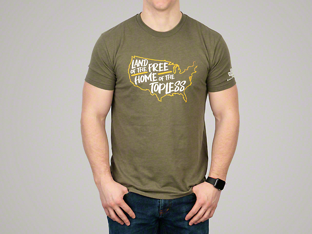 Men's/Unisex Home of the Topless T-Shirt