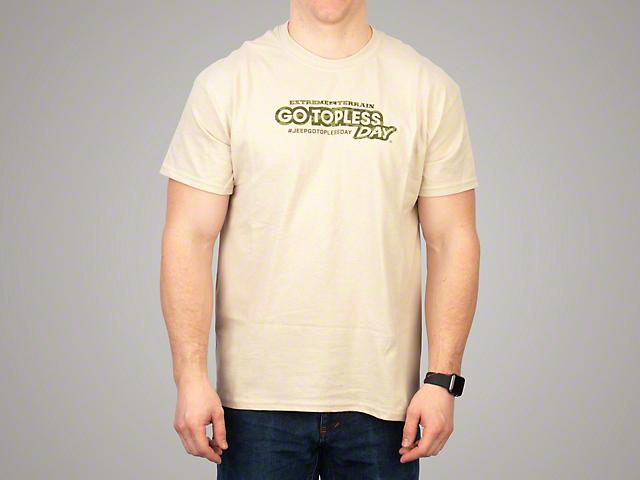 Men's/Unisex Go Topless Day Camo T-Shirt
