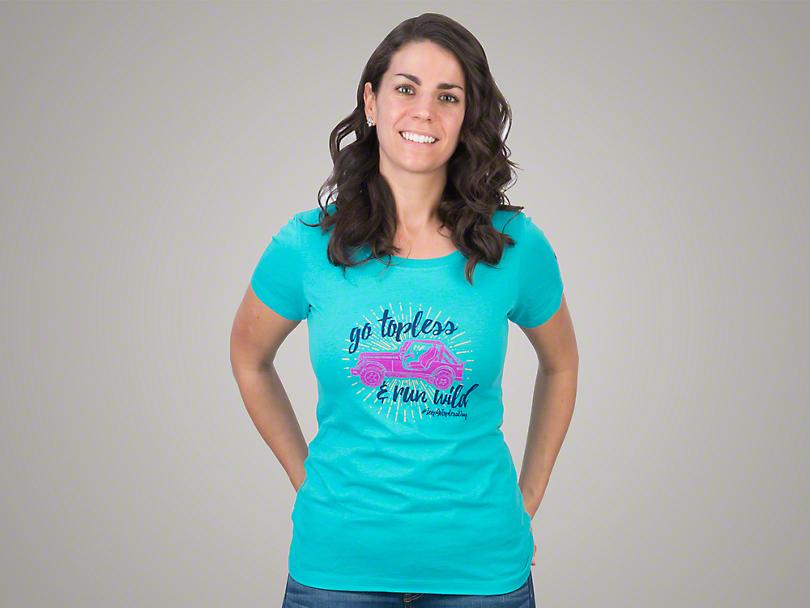 Women's Go Topless & Run Wild T-Shirt