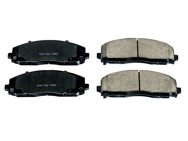 Power Stop Z16 Evolution Clean Ride Ceramic Brake Pads; Front Pair (2020 Jeep Gladiator JT)