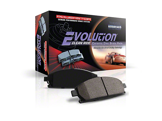 Power Stop Z16 Evolution Clean Ride Ceramic Brake Pads - Rear Pair (18-19  Jeep Wrangler JL Rubicon, Sahara)