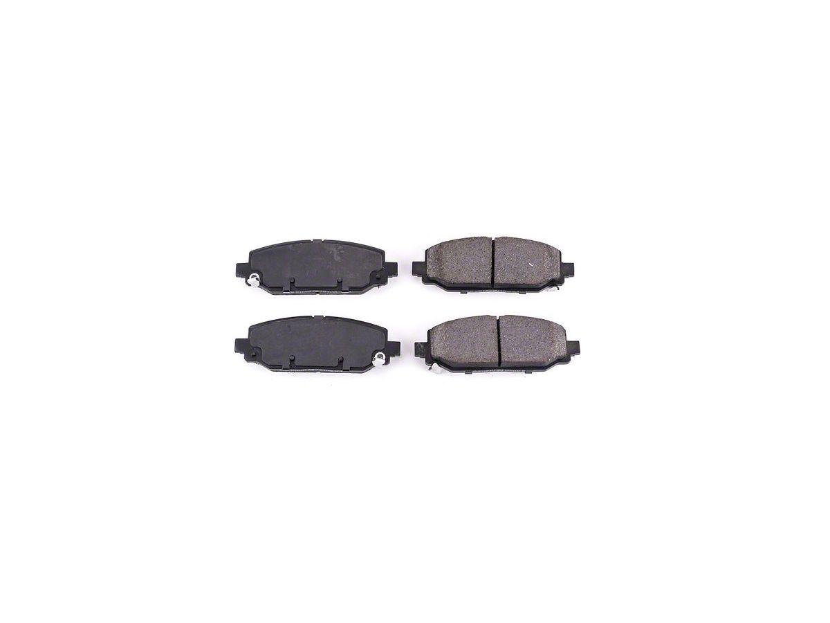 Power Stop Z16 Evolution Clean Ride Ceramic Brake Pads - Rear Pair (18-20  Jeep Wrangler JL Rubicon, Sahara)
