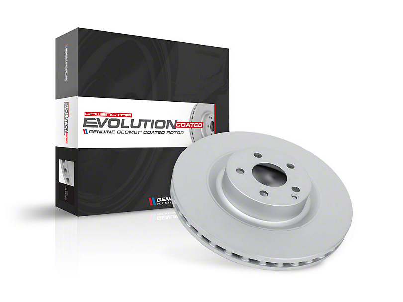 Power Stop Evolution Coated Rotor - Front (18-20 Jeep Wrangler JL)