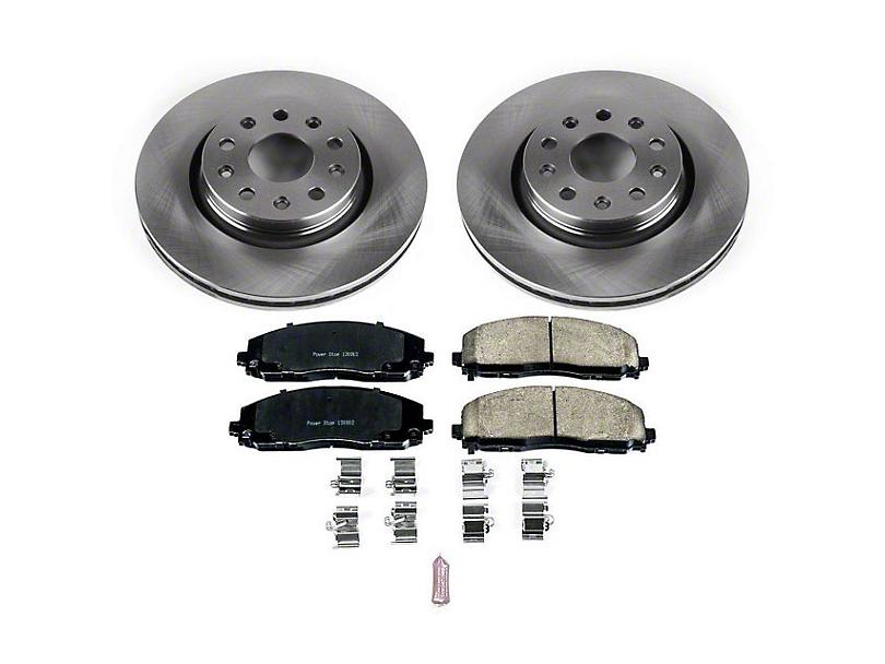 Power Stop OE Replacement Brake Rotor & Pad Kit - Front (18-20 Jeep Wrangler JL Rubicon, Sahara)
