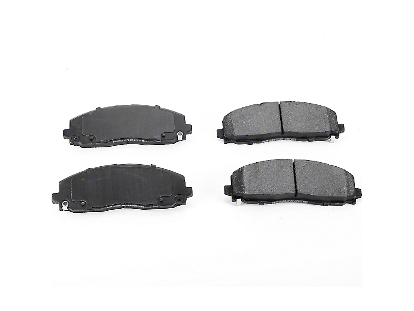 Power Stop Z23 Evolution Sport Ceramic Brake Pads - Front Pair (18-20 Jeep Wrangler JL)