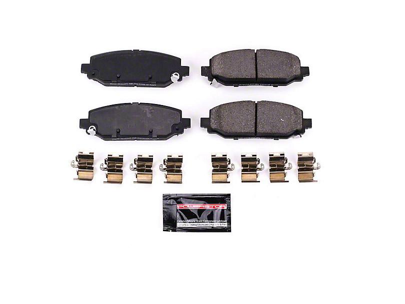 Power Stop Z23 Evolution Sport Ceramic Brake Pads - Rear Pair (18-20 Jeep Wrangler JL Rubicon, Sahara)