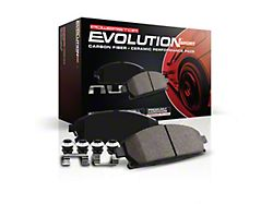 Power Stop Z23 Evolution Sport Carbon-Fiber Ceramic Brake Pads; Rear Pair (20-22 Jeep Gladiator JT Launch Edition, Rubicon)