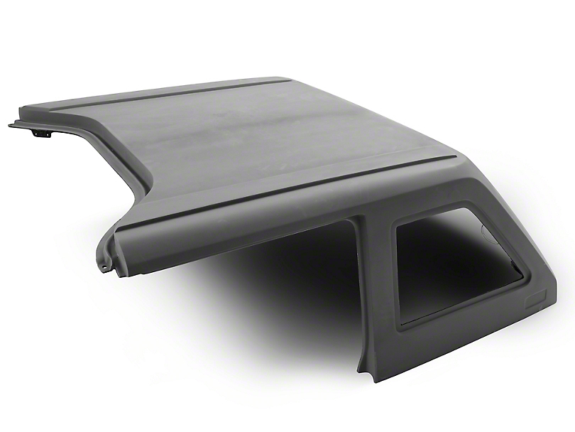 DV8 Off-Road 2-Piece Ranger Fastback Hard Top - Raw (07-18 Jeep Wrangler JK 4 Door)
