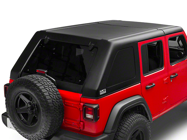 DV8 Off-Road 2-Piece Ranger Fastback Hard Top (18-20 Jeep Wrangler JL 4 Door)