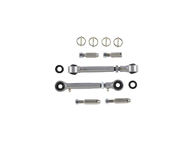 Rubicon Express Extreme-Duty Sway Bar Disconnects for 2.5-5.5 in. Lift (18-20 Jeep Wrangler JL)