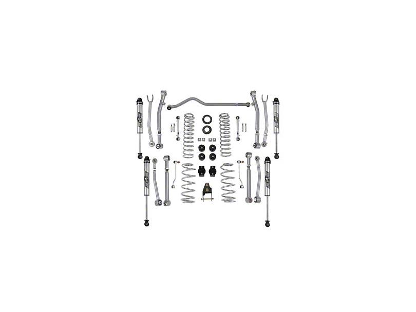 Rubicon Express Jeep Wrangler 3.5-4.5 in. Super-Flex