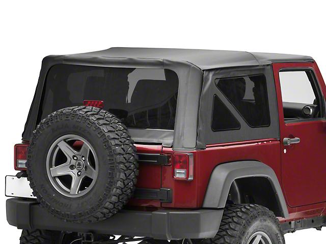RedRock 4x4 Replacement Soft Top - Black Diamond (10-18 Jeep Wrangler JK 2 Door)