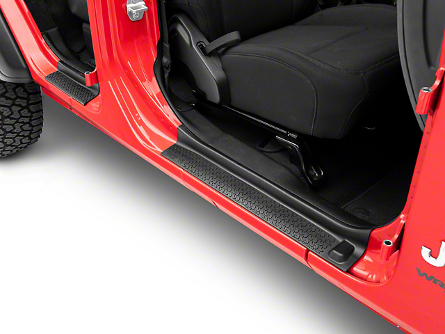 Rugged Ridge All-Terrain Door Entry Guards (18-21 Jeep Wrangler JL 4 Door)