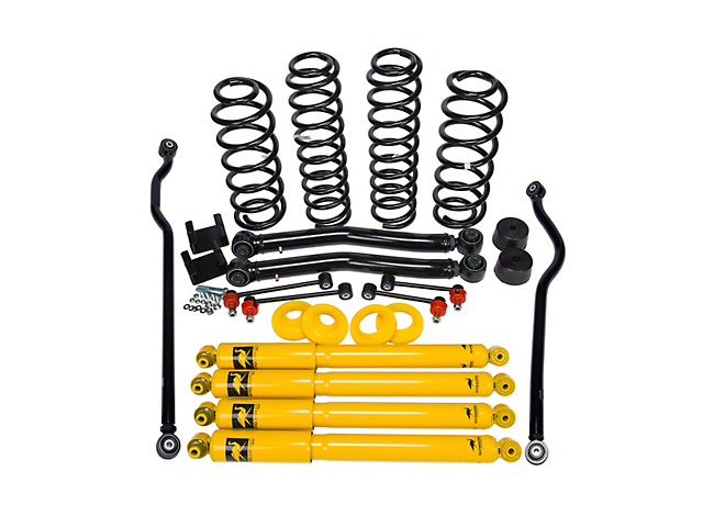Old Man Emu 2.50 to 3.50-Inch Light Load Suspension Lift Kit (18-20 Jeep Wrangler JL 2 Door)