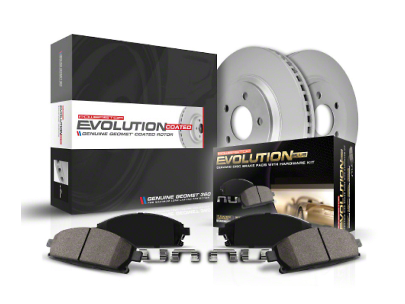 Power Stop Z17 Evolution Plus Brake Rotor & Pad Kit - Rear (18-20 Jeep Wrangler JL Rubicon, Sahara)