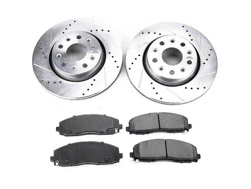 Power Stop Z23 Evolution Sport Brake Rotor & Pad Kit - Front (18-20 Jeep Wrangler JL Rubicon, Sahara)