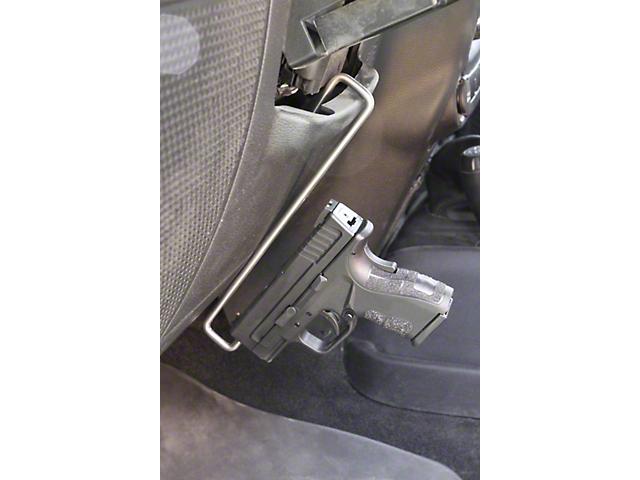 Steinjager Handgun Holder; Stainless Steel (07-18 Jeep Wrangler JK)